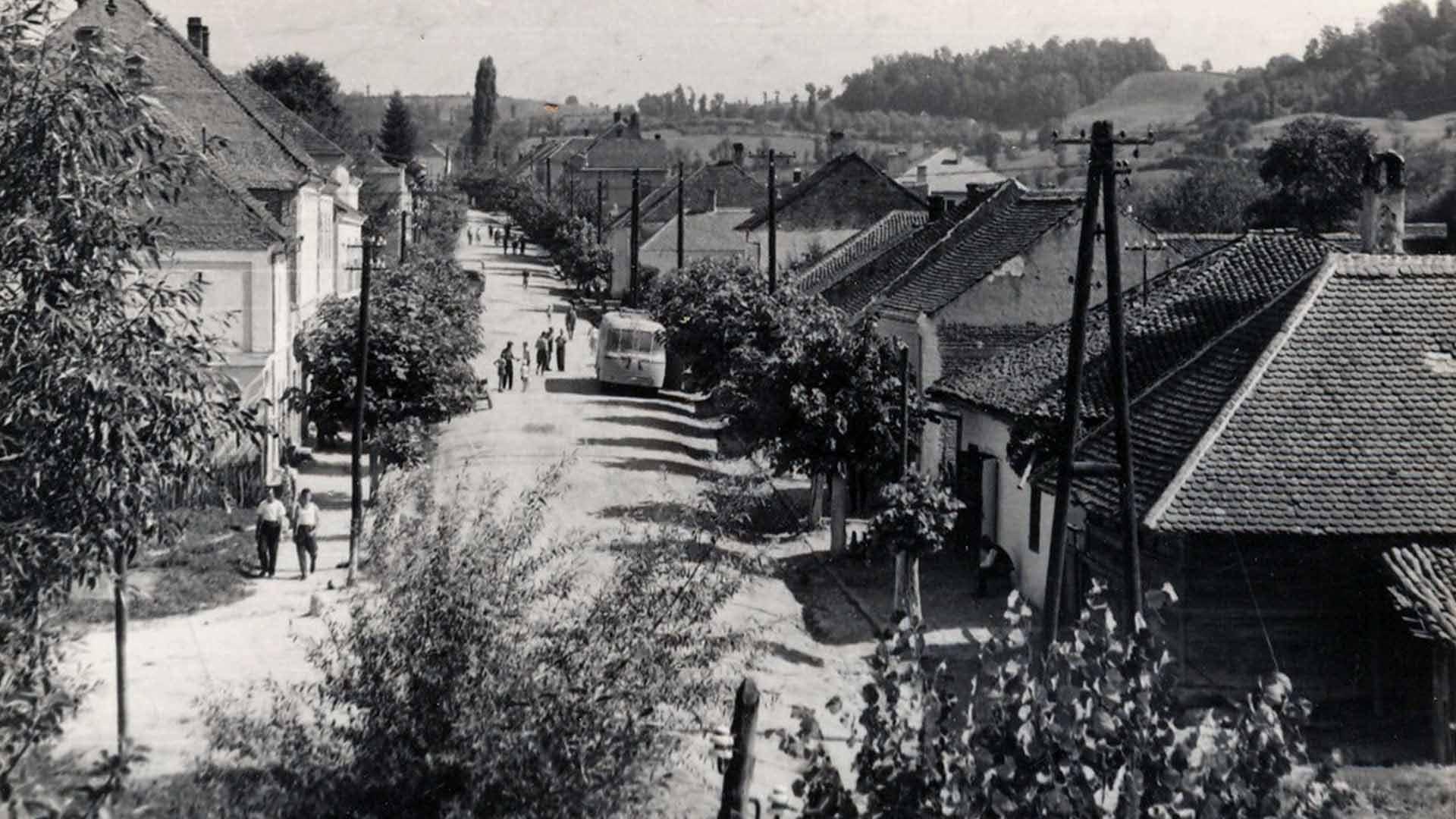 Белановица 50-их година прошлог века