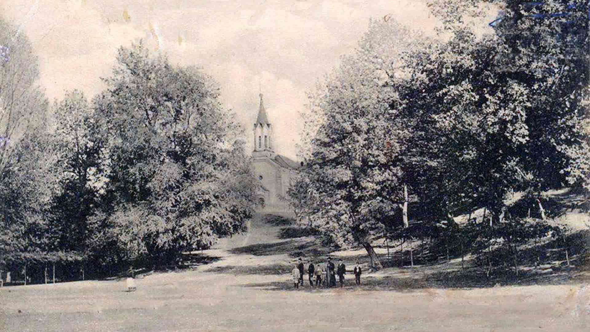 Црква у Белановици - 1911. година