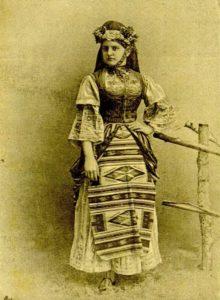 Сељанка, 1890. година