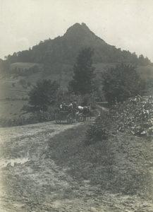 Пут ка Белановици 1917. године