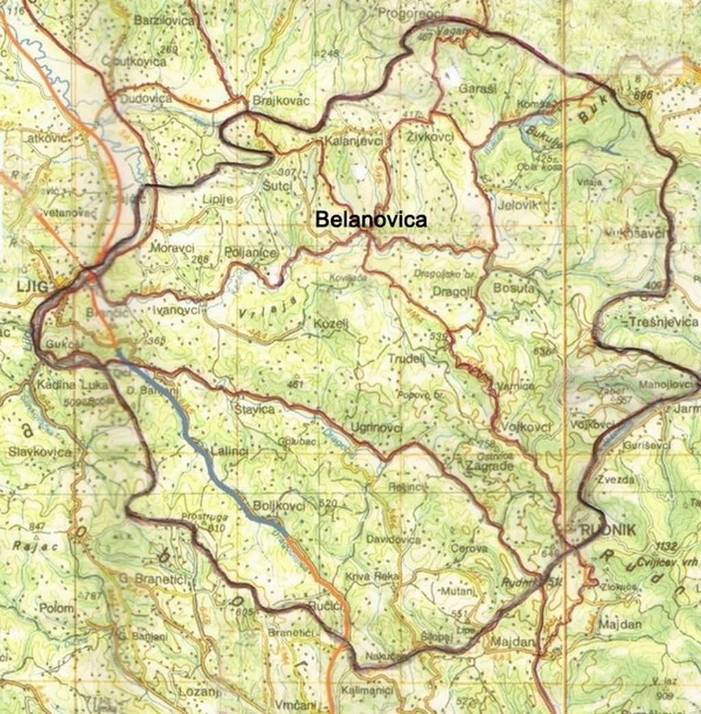 Карта Качера