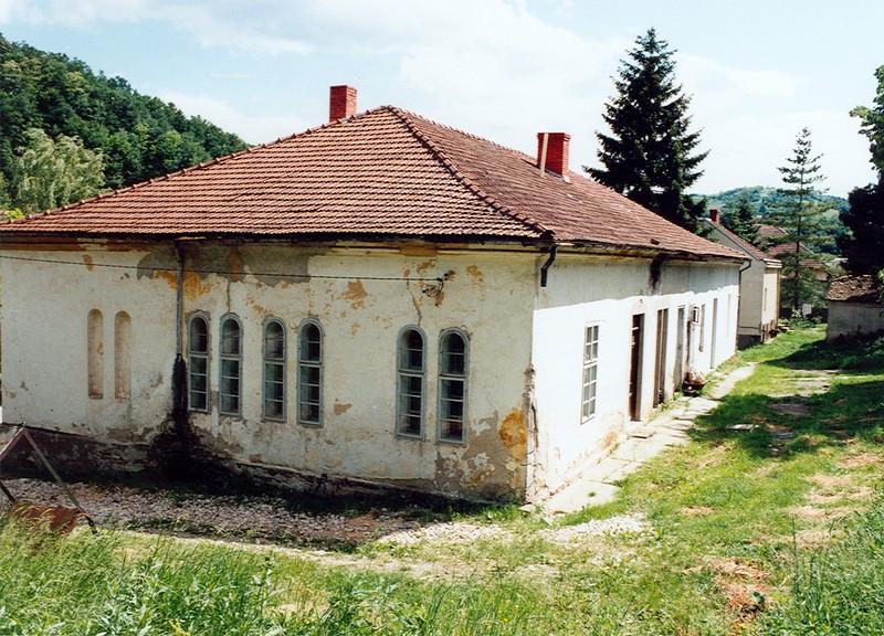 Овде је била раније библиотека