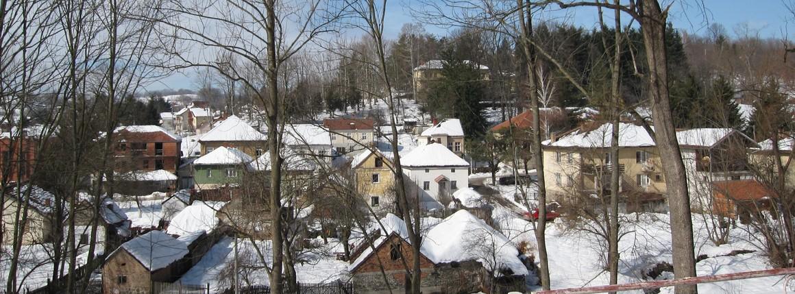 Дом зими