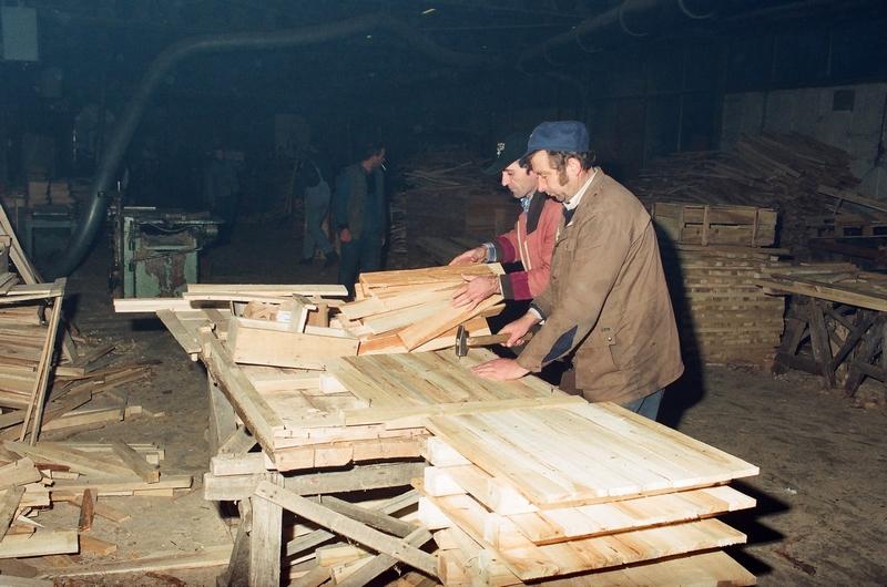 Детаљ из производње палета