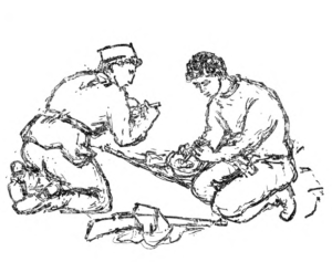 Борци, илустрација