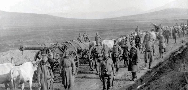 Одлазак у Балкански рат