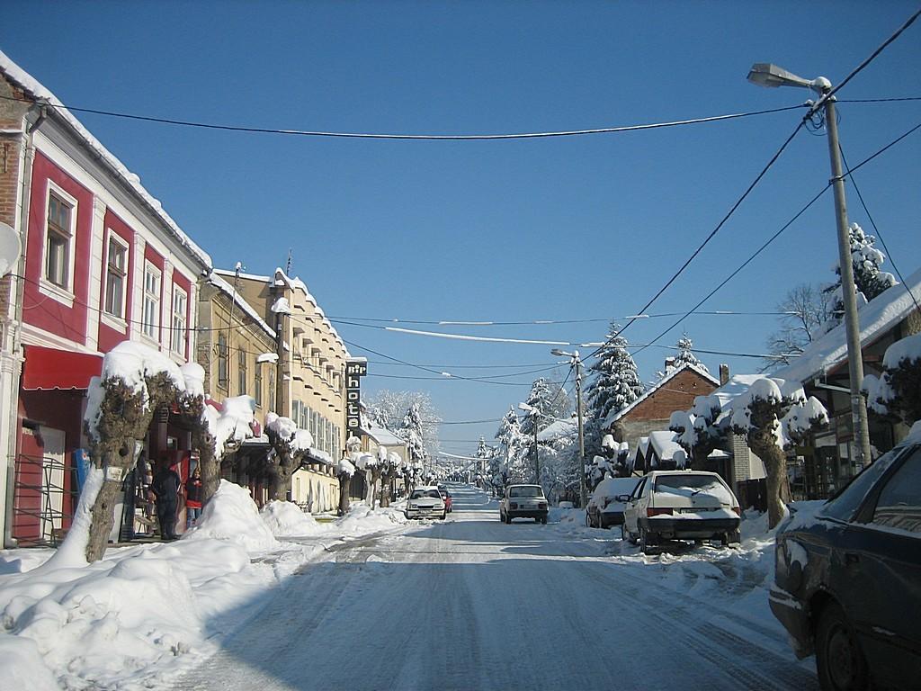 Белановица зими